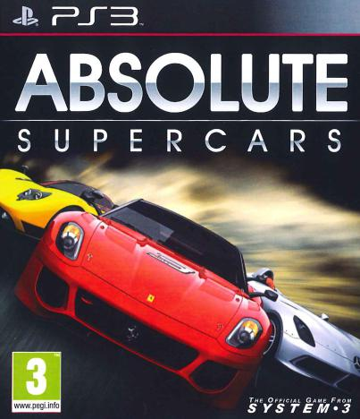 ABSOLUTE SUPERCARS – PS3